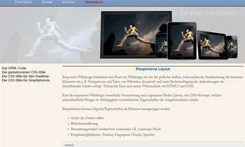 Responsive Layout
